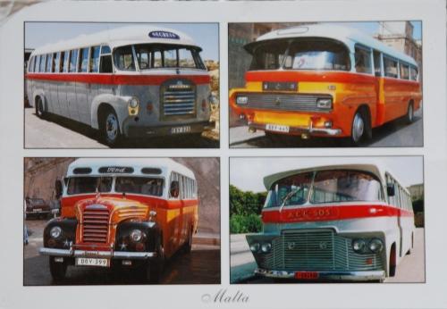 Malta - Busse