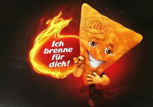 Ich brenne für dich!