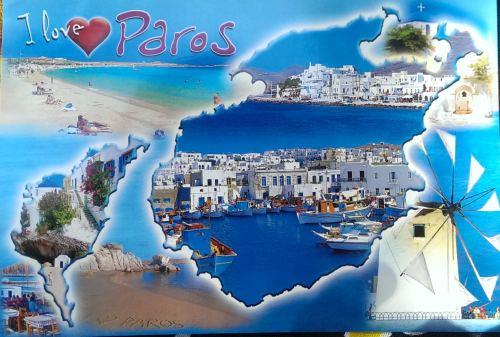 I love Paros