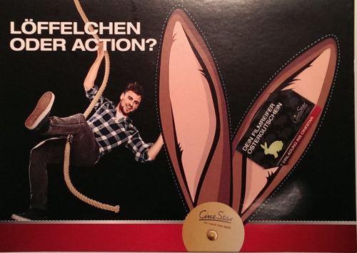 Löffelchen oder Action?