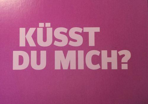 Küsst du mich?